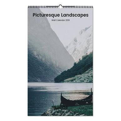 Picturesque Landscapes 2019 Wandkalender