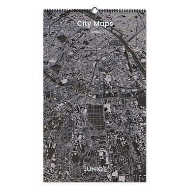 City Maps 2019 -Wandkalender
