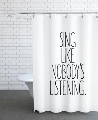 Sing Shower Curtain