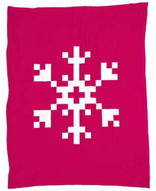 Pink Snowflake 2 Plaid