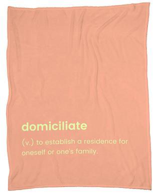 Domiciliate plaid