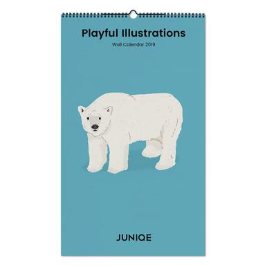 Playful Illustrations 2019 Calendrier mural