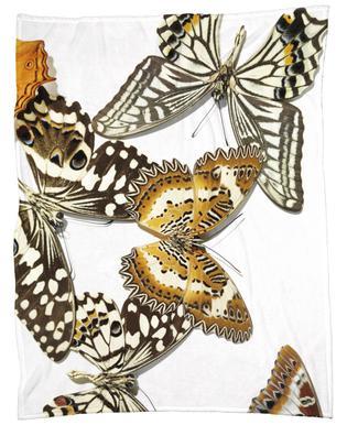 Butterflies 9 Fleece Blanket