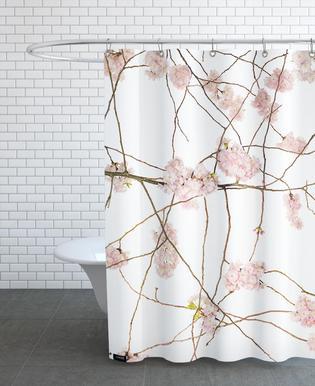 Flora - Japanische Kirsche Douchegordijn