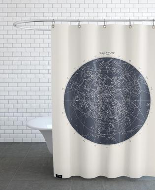 Astronomy Space Shower Curtains
