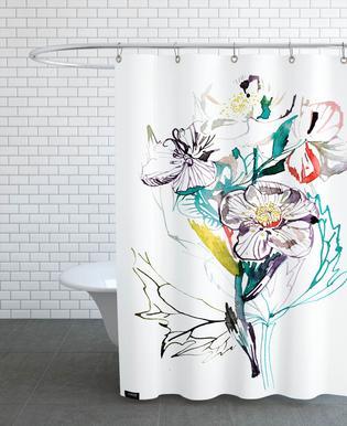 Barcelona Vintage -Duschvorhang