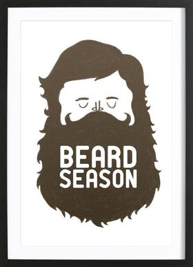 Beard Season ingelijste print