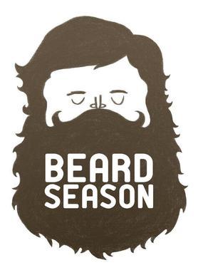 Beard Season canvas doek
