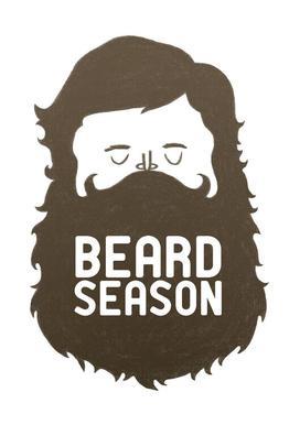 Beard Season Acrylglasbild