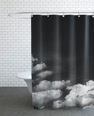 Black Sky Shower Curtain
