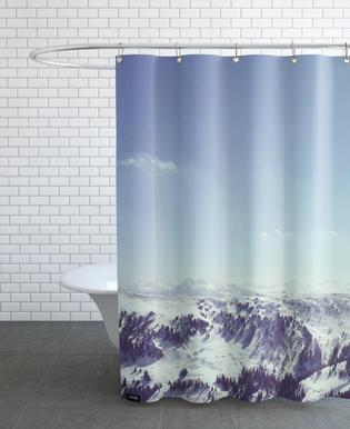 The Alps 2 As Shower Curtain By Nur Mut