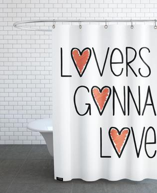 Lovers Gonna Love Shower Curtain