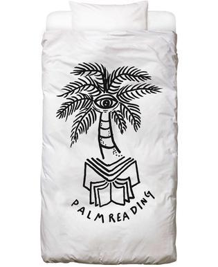 Palm Reading White Bettwäsche