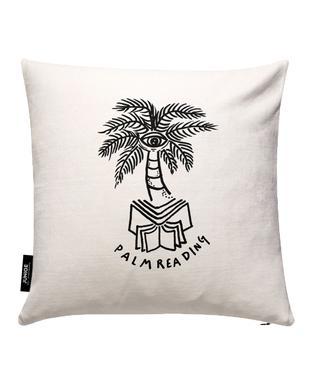 Palm Reading White Housse de coussin