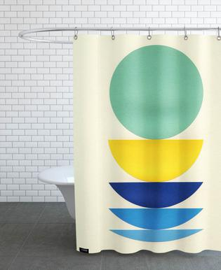 Five Circles Shower Curtain