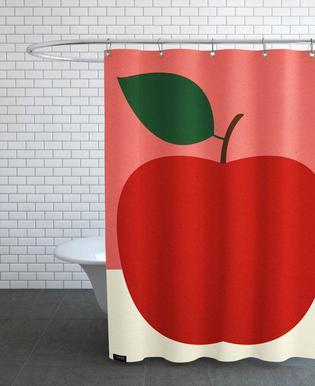 Red Apple Duschvorhang