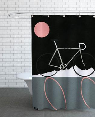 Tour de Noir Shower Curtain