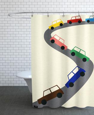 Traffic Rideau de douche