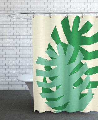 Two Palm Leaves Shower Curtain