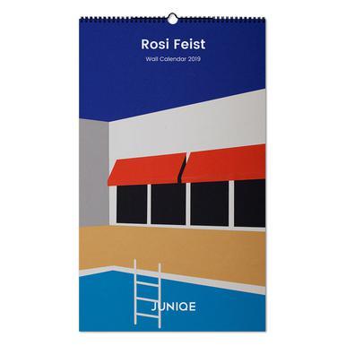 Rosi Feist 2019 Wall Calendar