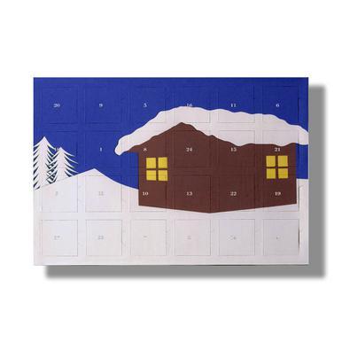 Mountain Hut As 2018 Chocolate Advent Calendar Kinder Juniqe Uk