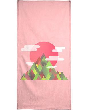 Pink Peaks handdoek