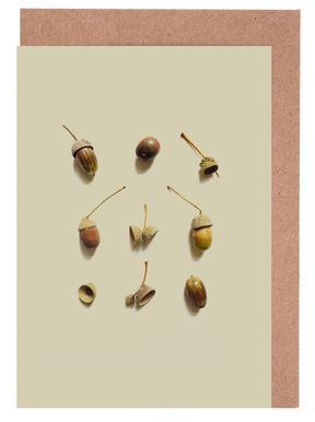 COMPOSIZIONE GHIANDE I Greeting Card Set