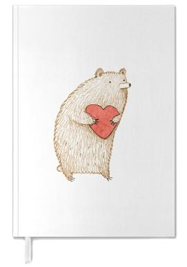 Bear With Heart Personal Planner
