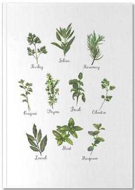 Herbs Collection Notitieboekje