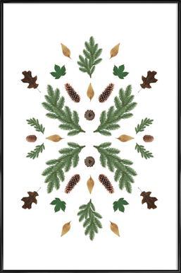 Winterland 01 Poster in Standard Frame
