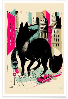 Giants Zorro Affiche
