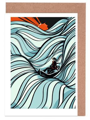 Sea Of Love Greeting Card Set