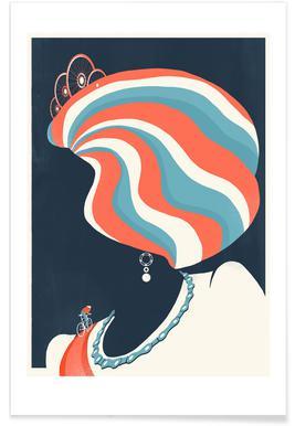 Queen Bike Trix Poster