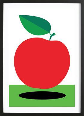 Apple 1 -Bild mit Holzrahmen
