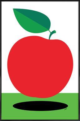 Apple 1 Poster im Kunststoffrahmen