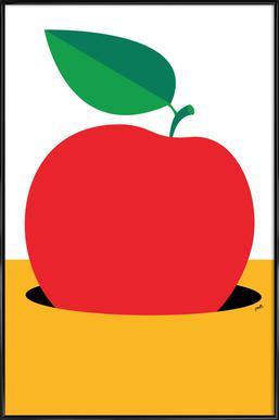 Apple 2 Poster in kunststof lijst