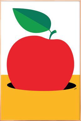 Apple 2 Poster im Alurahmen