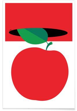 Apple 3 Poster