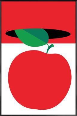 Apple 3 Poster in kunststof lijst