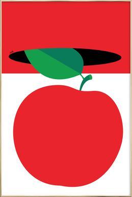 Apple 3 Poster in Aluminium Frame