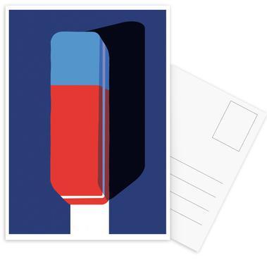 Erase Postkartenset