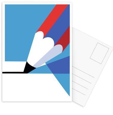 Pencil cartes postales
