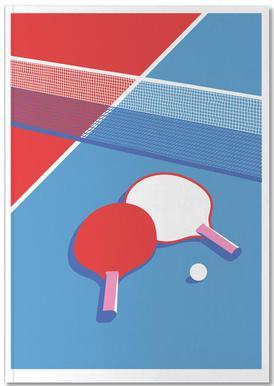 Ping Pong Notizbuch