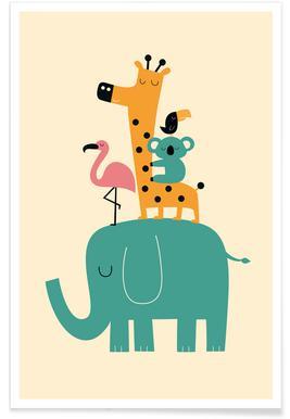 Kinderbilder fürs kinderzimmer giraffe  Kinderbilder und Poster fürs Kinderzimmer online kaufen | JUNIQE shop