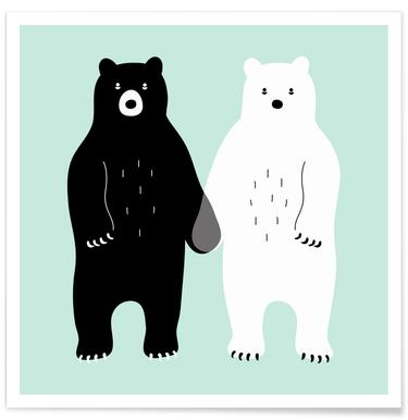 Two Bears Poster