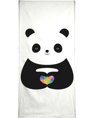 Panda Love  Serviette de plage