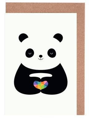 Panda Love Grußkartenset