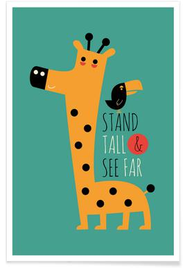 Stand Tall and See Far Poster