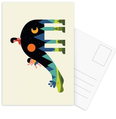 Up and Down Postcard Set