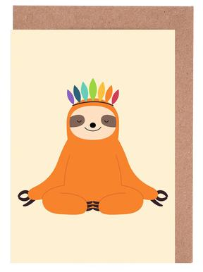 Master of Calm Set de cartes de vœux